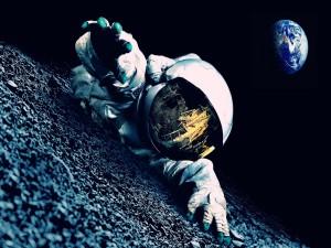 Astronauta en apuros