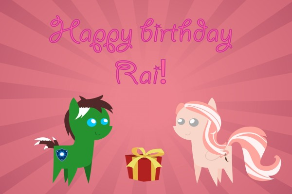 Happy Birthday Rai!