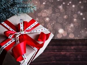 Postal: Regalo navideño
