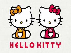 "Simpáticas hermanas ""Hello Kitty"""