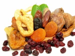 Postal: Ricas frutas secas