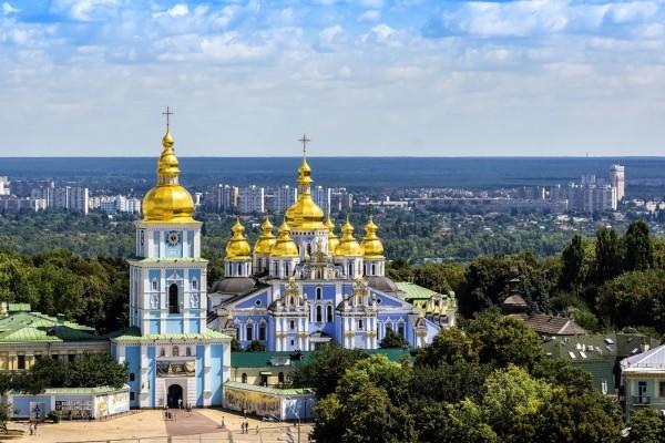 Monasterio de San Miguel de las Cúpulas Doradas (Kiev, Ucrania)