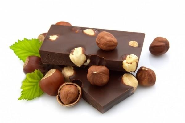 Chocolate con ricas avellanas