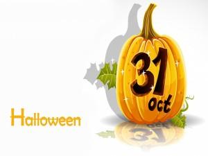 """Postal: Halloween """"31 de Octubre"""""""