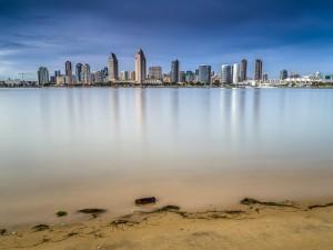 San Diego visto desde la isla Coronado