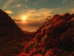 Los colores del otoño al amanecer