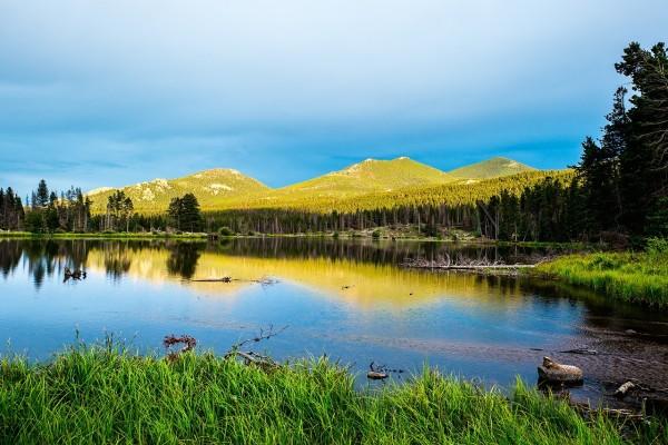 Sprague Lake, Parque Nacional de las Montañas Rocosas (Colorado)