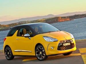 Citroën DS3 Sport color amarillo