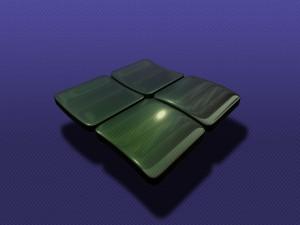 Postal: Logo de Windows 3D