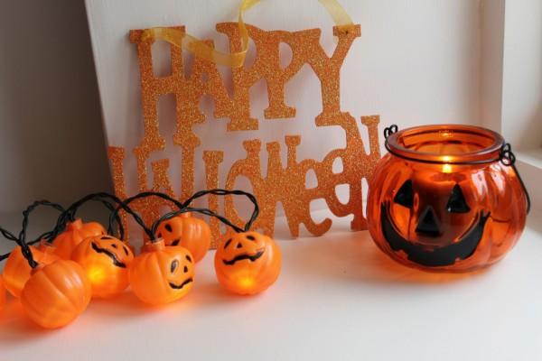 Calabazas luminosas para decorar en Halloween