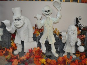 Figuras de decoración en Halloween