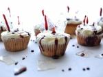 Cupcakes sangrientos para comer en Halloween