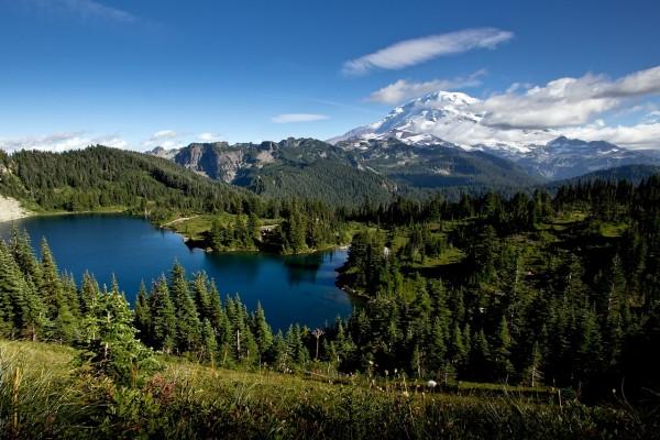 Vistas del monte Rainier