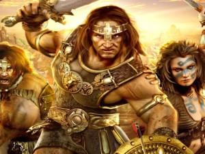 """Postal: Guerreros de """"Age of Conan"""""""