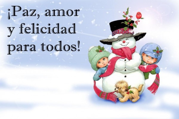 Mensaje para el Día de Navidad y Año Nuevo