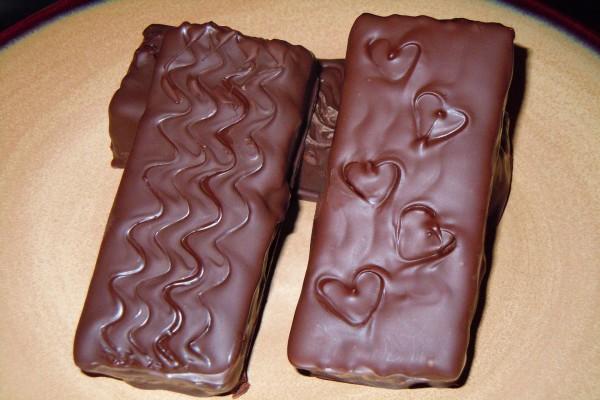 Chocolatinas caseras