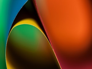 Postal: Cartulinas de colores