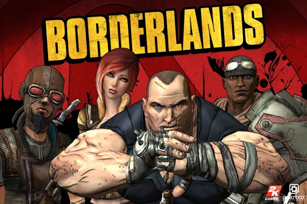 """Los cuatro personajes de """"Borderlands"""""""