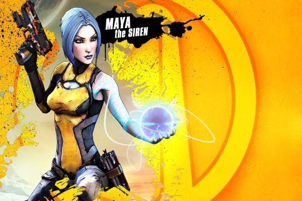 "Maya, personaje de ""Borderlands 2"""
