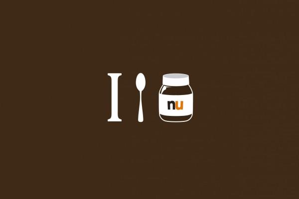 Amor por comer la Nutella a cucharadas
