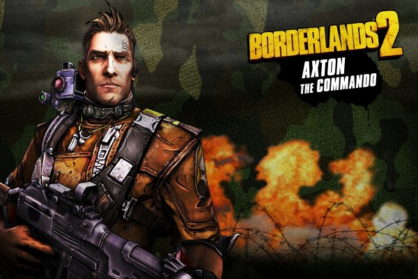 "Axton (El comando) ""Borderlands 2"""
