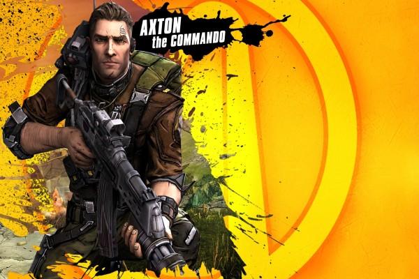 """Axton, personaje """"Borderlands 2"""""""