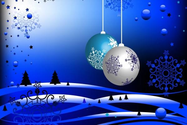 Una bonita imagen navideña