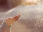 Gotas de agua brillantes
