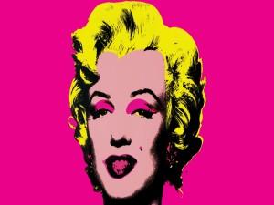 Pintura de Andy Warhol a la actriz Marilyn Monroe