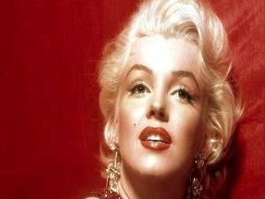 Foto a color de Marilyn Monroe