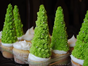 Cupcake navideños