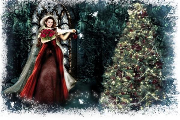 Thalía en una mágica Navidad
