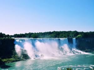 Las cataratas del Niágara en Toronto, Canadá
