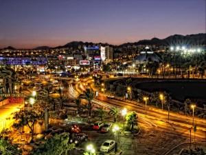 Hermosa noche en la ciudad