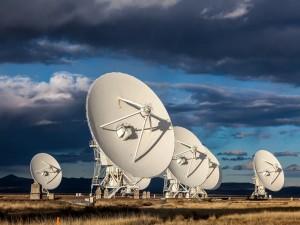 Antenas observando el Universo