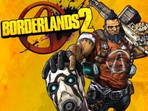 Salvador agarrando a un bandido de Borderlands 2