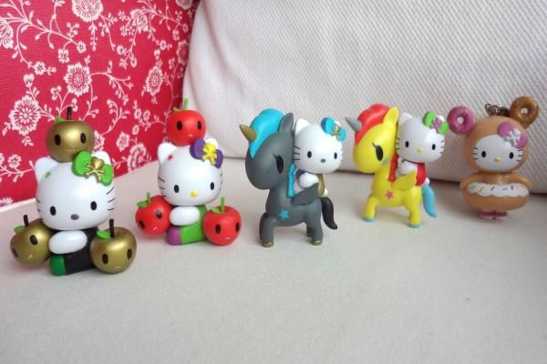 Muñequitas de Hello Kitty