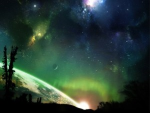 Bellas vistas del espacio y otros planetas