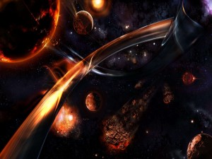 Caos en el espacio