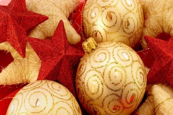 Elementos decorativos para el árbol de Navidad