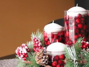Bonita idea para la decoración de Navidad