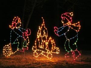 Postal: Luces para Navidad
