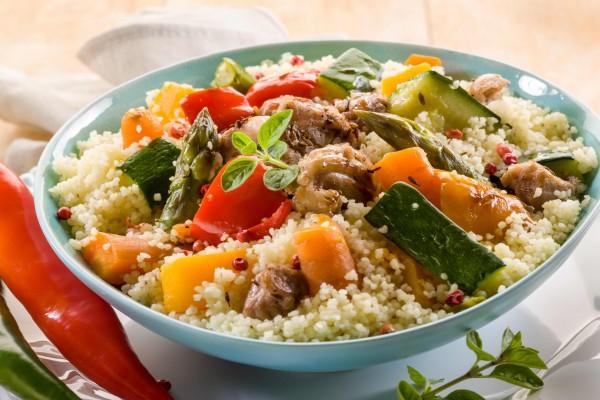 Verduras con cuscus