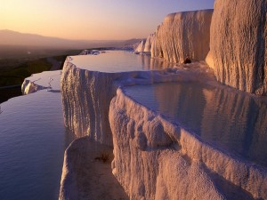 Postal: Lago de sal (Bolivia)