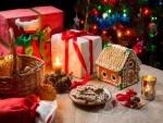 Una bonita y variada decoración navideña