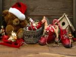 Juguetes y decoración de Navidad