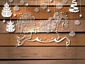 Figuras blancas navideñas