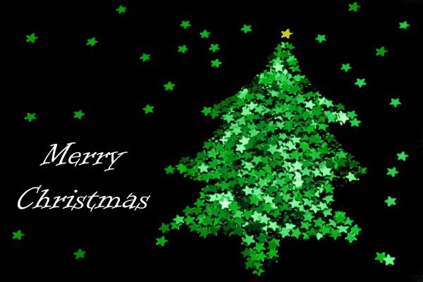 Estrellitas verdes y ¡Feliz Navidad!