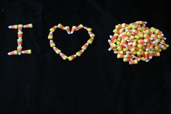 Amor por los caramelos de maíz
