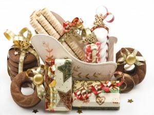 Postal: Galletas para regalar en Navidad